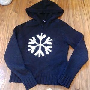 Snowflake sweater Gap